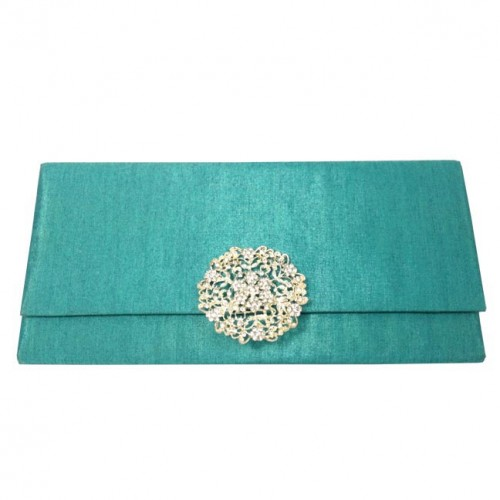 silk clutch for wedding invitations