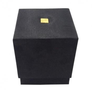 Black silk gift box for spa