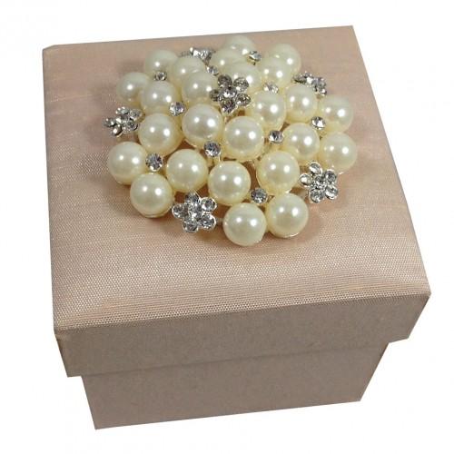 Sweet dupioni silk gift box