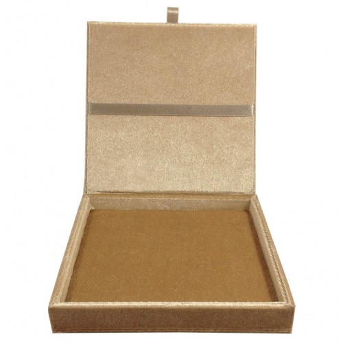 Velvet wedding invitation box