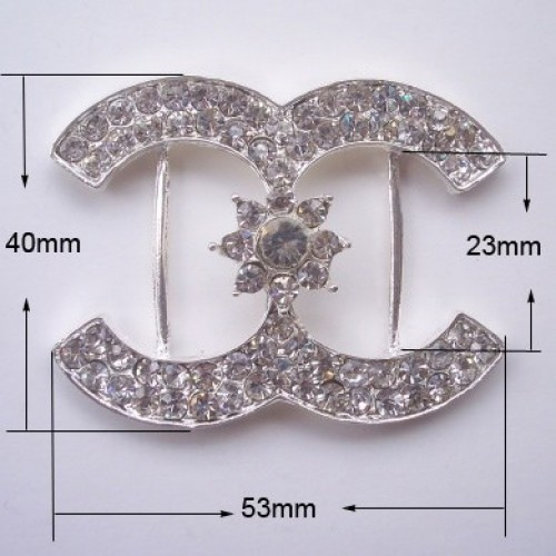 CD Fashion Crystal Buckle
