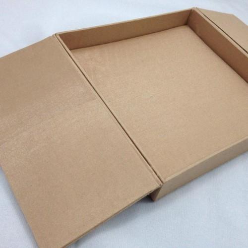 Corn gold gate fold wedding invitation box luxury for Wedding invitation mailing boxes
