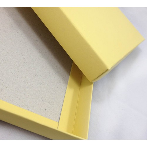yellow mailing box