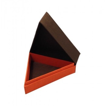 The original triangle shaped Thai silk box