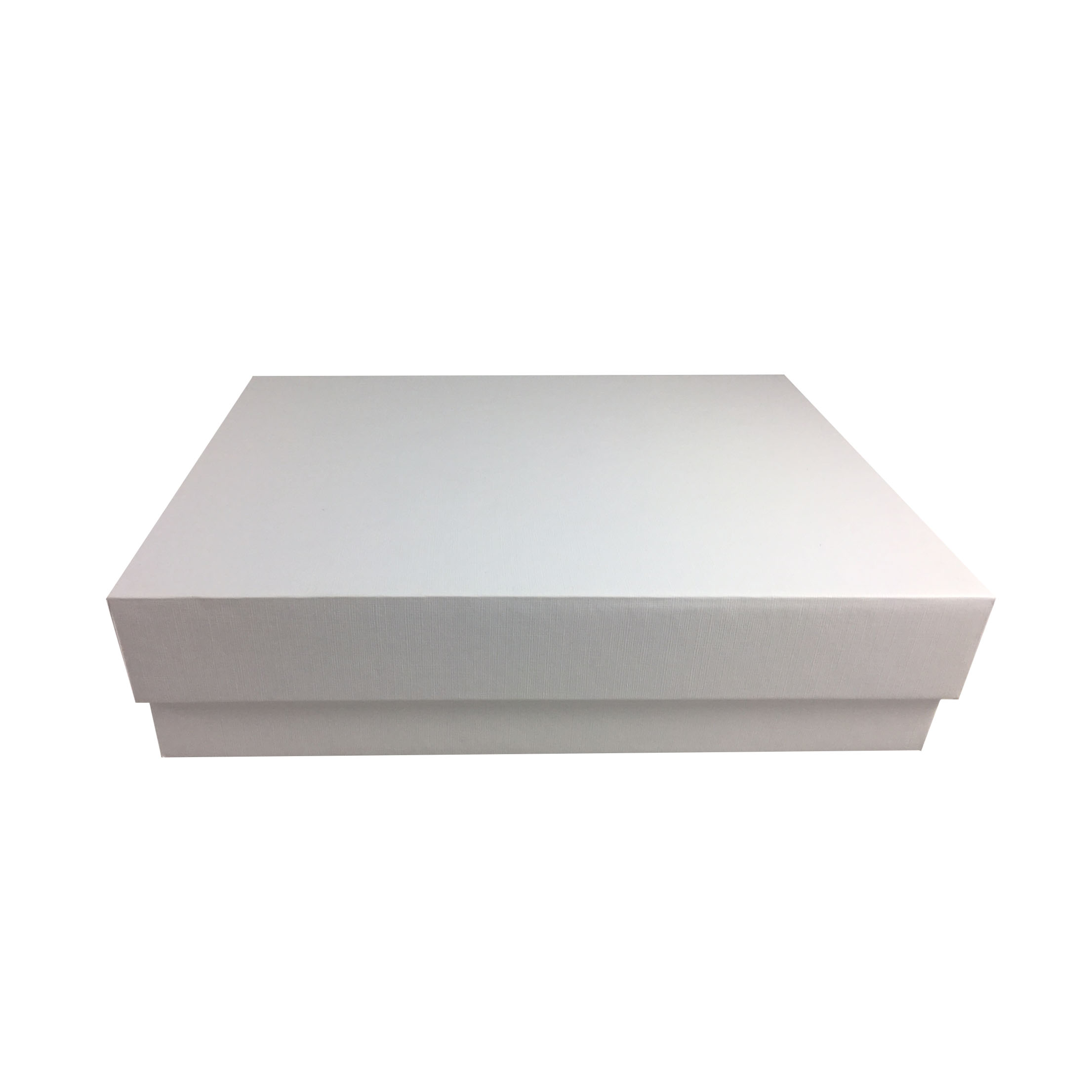 white mailing boxes to mail out wedding boxes and invitations