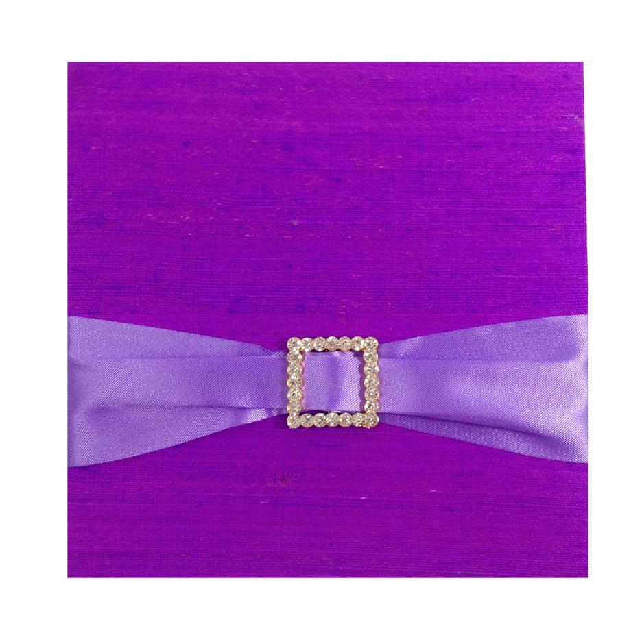 Dupioni silk invitations