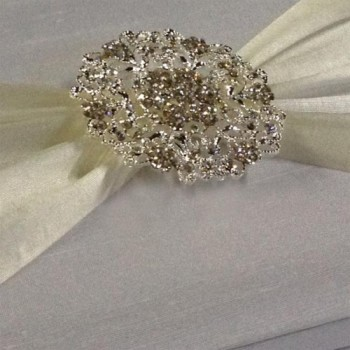 Large brooch wedding embellishments