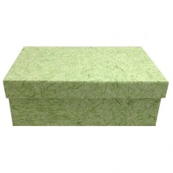 Green mulberry paper box