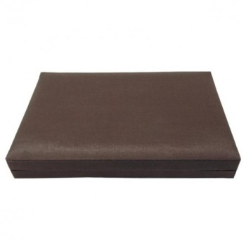 Silk box in brown