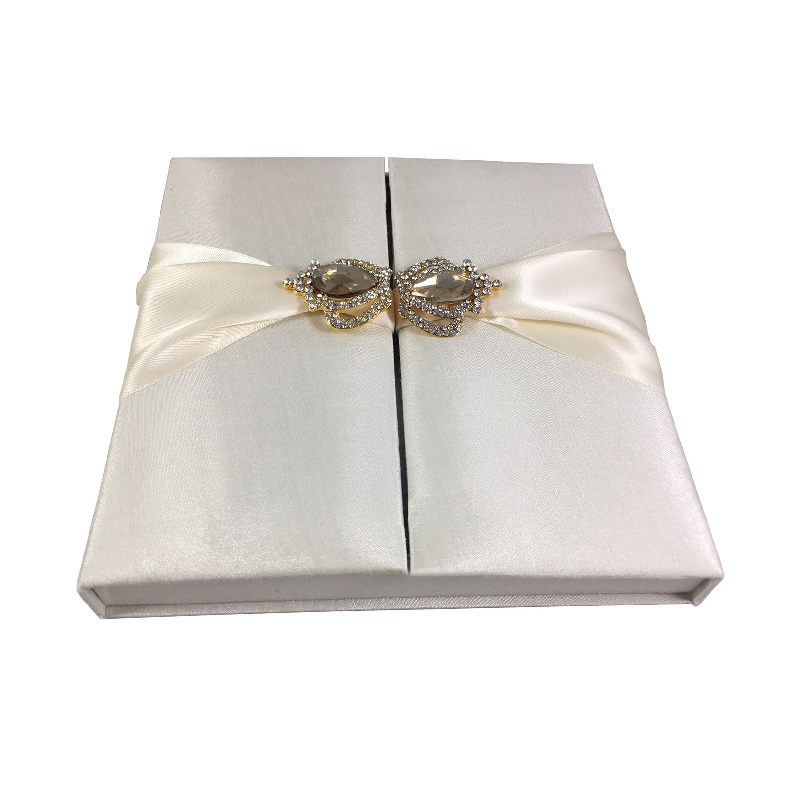 ivory gatefold wedding box