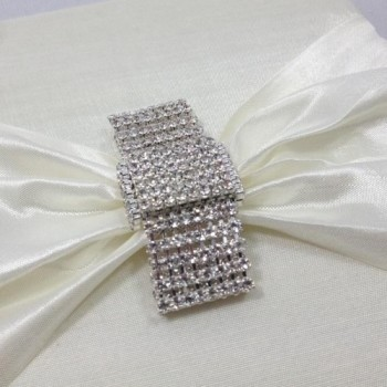 Rhinestone wedding embellishments
