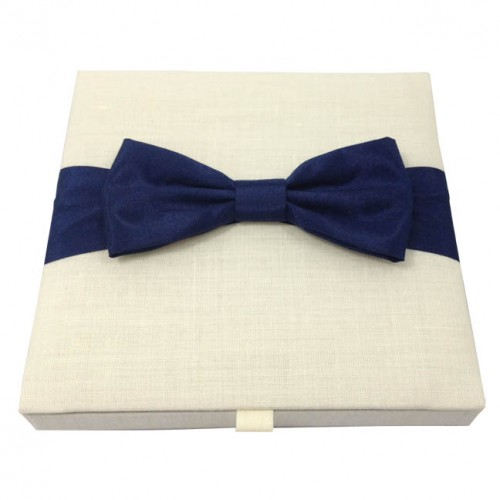 Linen box for invitations