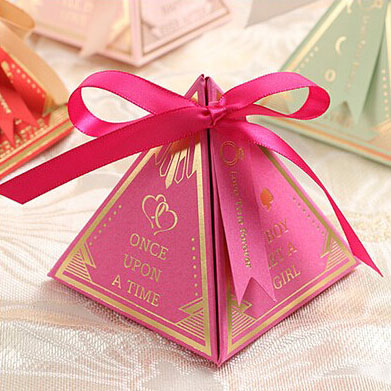 Luxury candy favor box