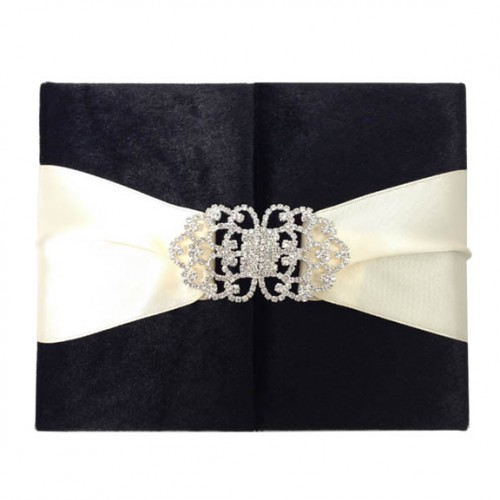 luxury couture wedding invitations