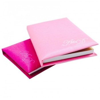 Mini notebook wedding favor