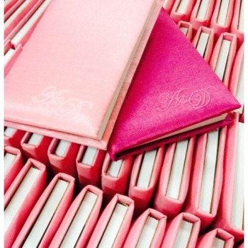 Silk mini notebook