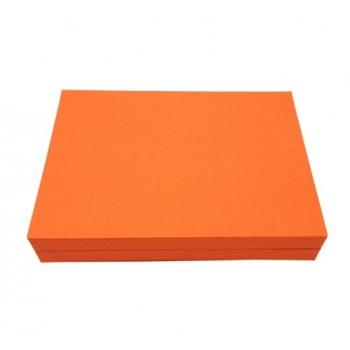 Orange display box