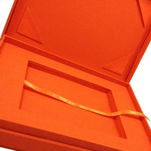 cotton custom invitation box