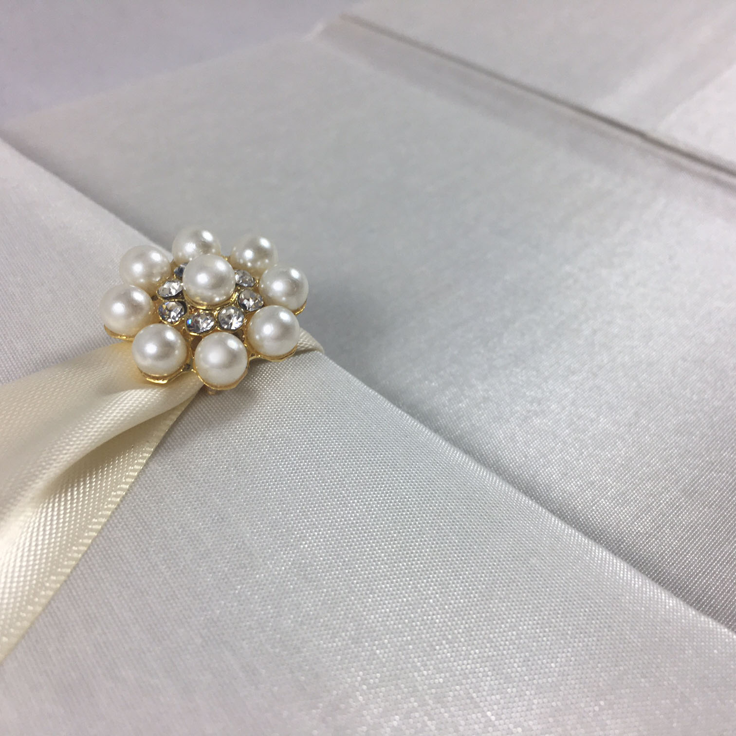 pearl wedding invites