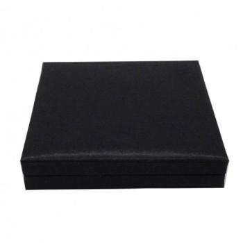 Black wedding invitation box