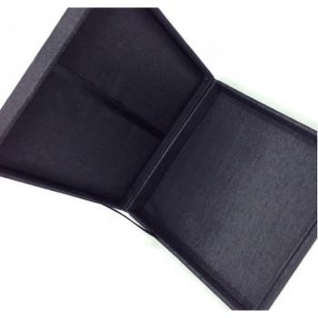 Black silk box