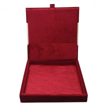 Red velvet invitation box