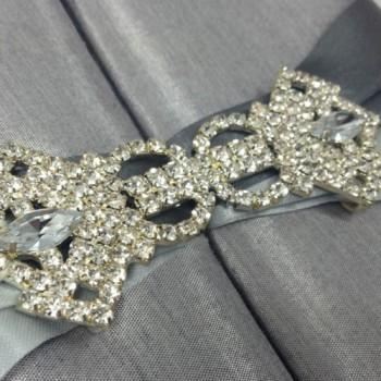 Rhinestone crystal clasp