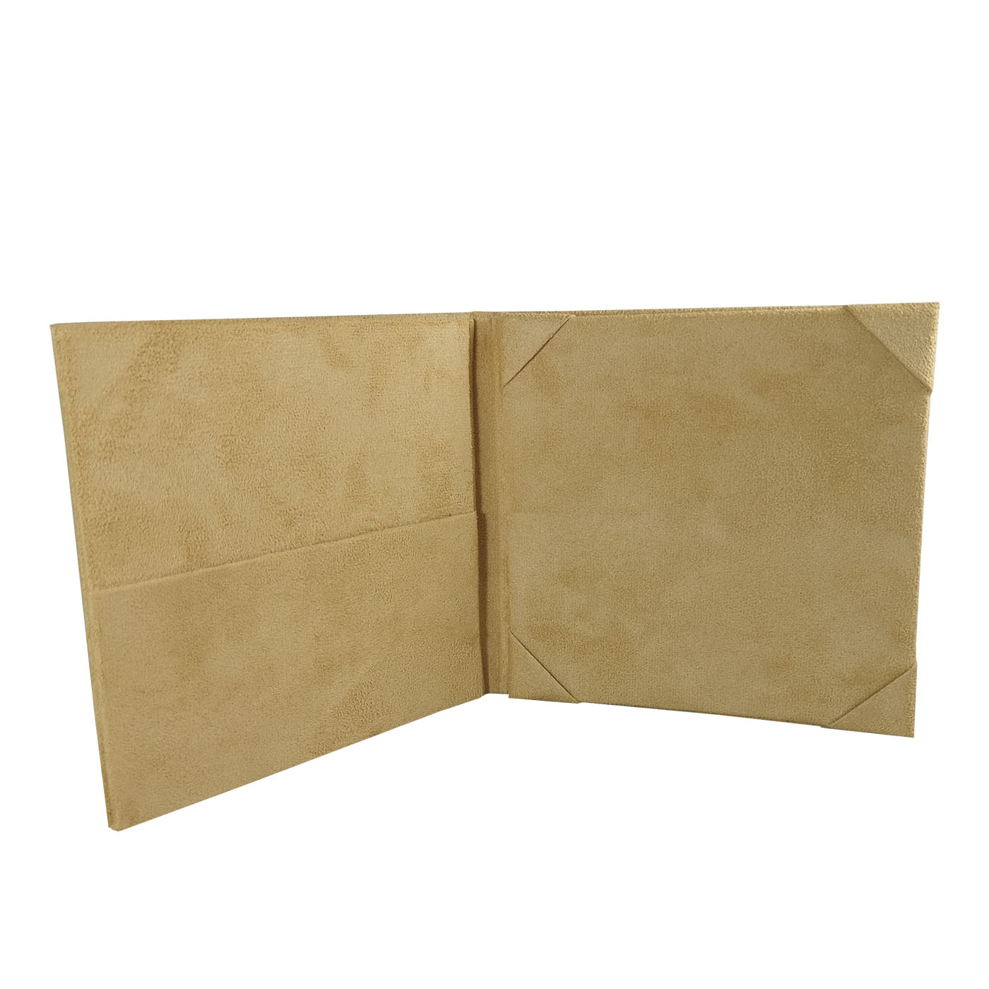 suede folder for wedding invitation cards
