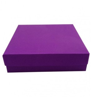 Violet Mailing Box For Wedding Invitations