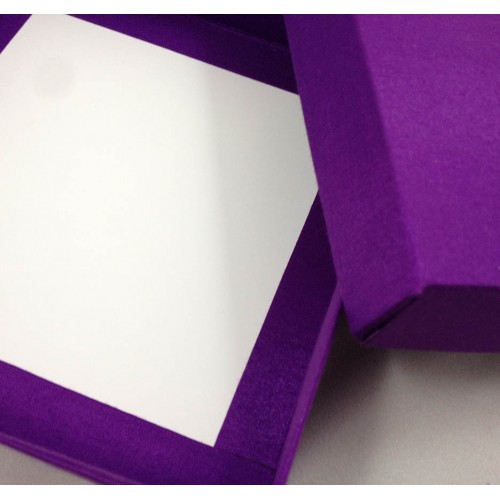 Violet mailing box detail view
