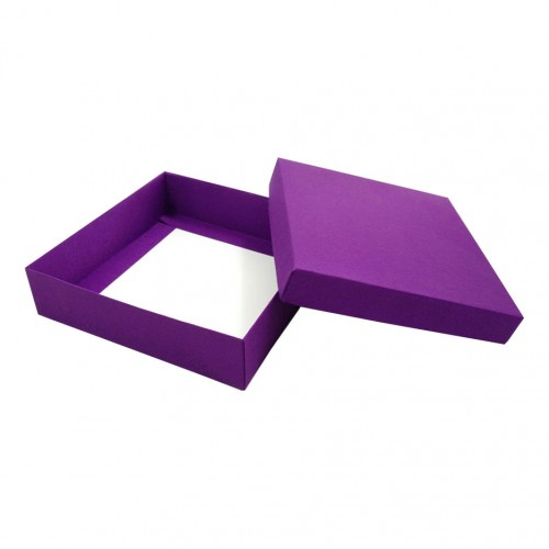 Wedding Invitation Mailing Boxes Violet Silk Mailing Box For Wedding Invitation Luxury