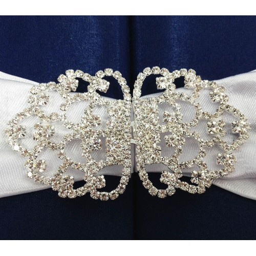 Luxury rhinestone buckle for wedding invitations