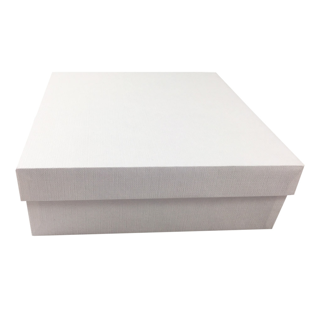 White mailing box with strong cardboard handmade quality for Wedding invitation mailing boxes