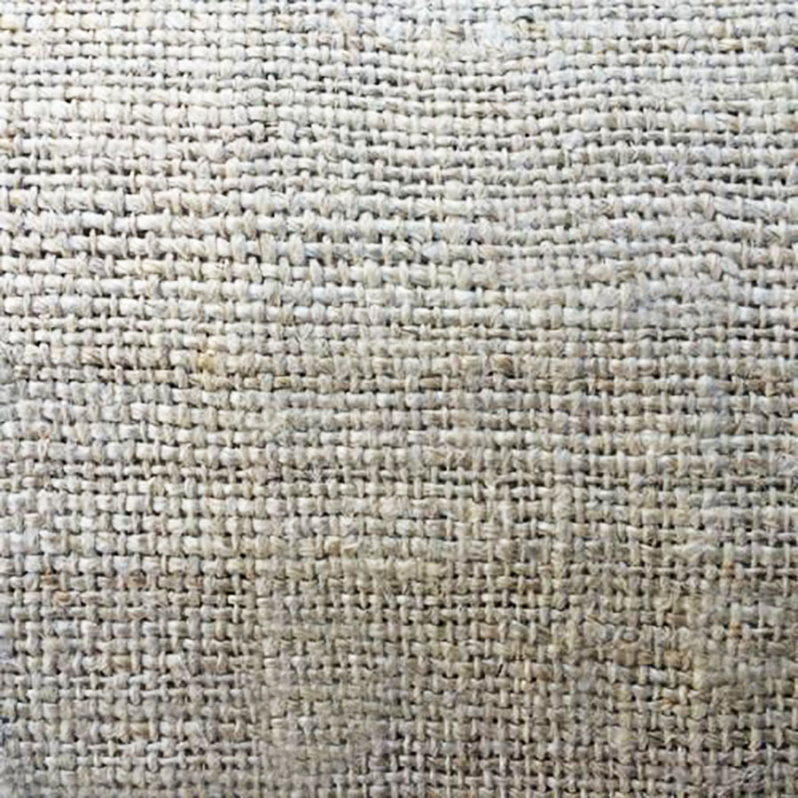 close up of Thai hemp fabric