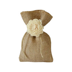 Jute Wedding Favour Bag