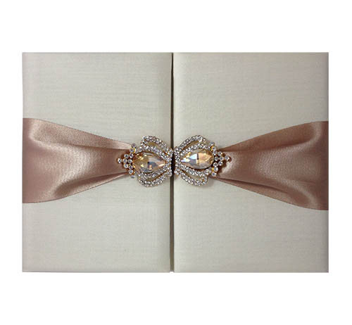 luxury crown brooch invitation