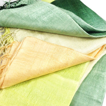 Thai silk shawls