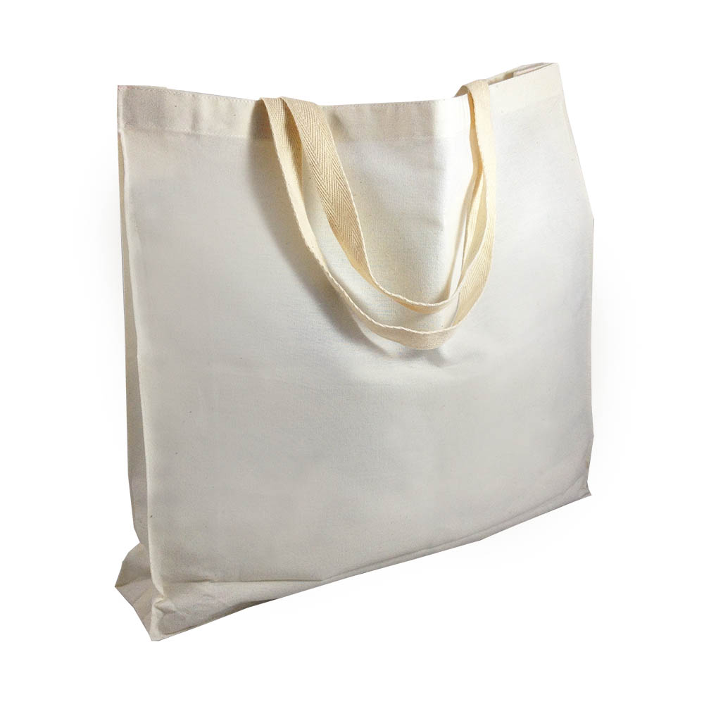 Natural Color Quality Cotton Tote Bag Luxury Wedding