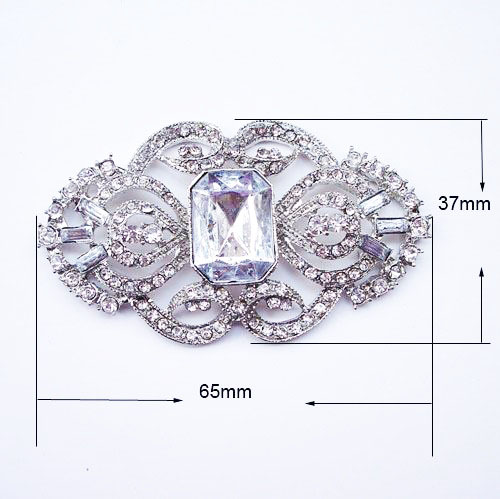 vintage wedding brooch