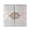 Brocade Silk Wedding Folder