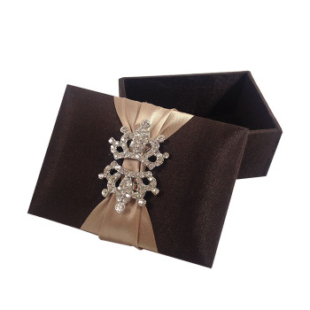 Chocolate brown Favor Boxes