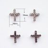 Flat Back Crystal Cross