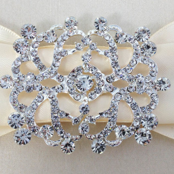 Diamante Brooch