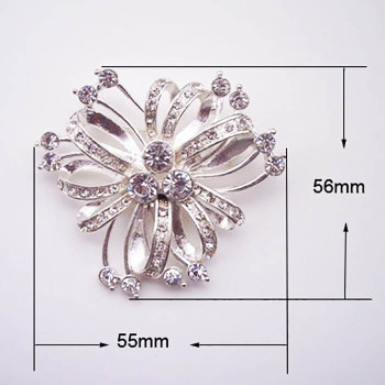 Modern wedding brooches
