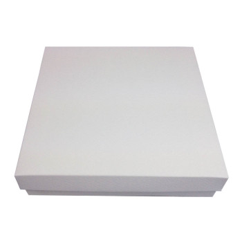 Off white mailing boxes