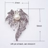 Orchid Flower Brooch