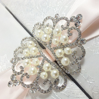 Pearl Crown Brooches