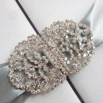 Faux Diamond Brooch