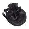 Brocade silk drawstring pouches