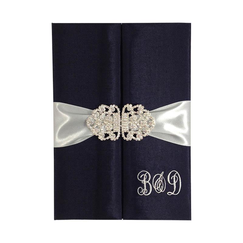Luxury wedding folder invitations